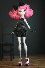 polka dotty (Kittytoes) Tags: monster high cupid mattel explored melancholykitties
