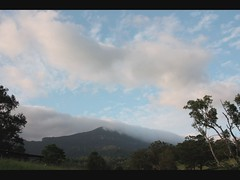 Sunset over Numinbah (AlyceDee) Tags: sunset mist clouds timelapse country springbrook numinbah