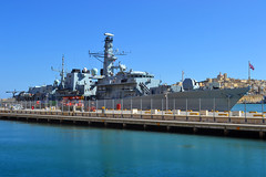 HMS Somerset (F82) (albireo2006) Tags: blue wallpaper grey mediterranean ship background gray navy somerset mooring frigate warship royalnavy type23 type23frigate hmssomerset