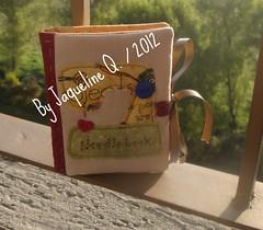 Needle book (♥Mafer Art`s- by Jaque♥) Tags: livrodeagulhas aplicaçao tecidos100algodao