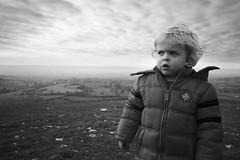 King of the World (ReportageImages) Tags: leica winter boy portrait england candid 28mm hill summicron wiltshire longleat cley m9p