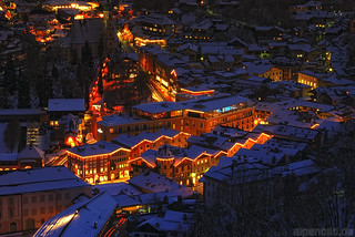 Abends in Berchtesgaden