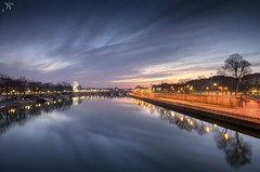 The Seine (J.P | Photography) Tags: life morning sea wallpaper paris reflection seine sunrise nikon angle ps jp pont bluehour reflexion reflets hdr parisian hdri matin photographe parisien pontdelaconcorde heurebleue jpphotography d7000 djpig91