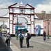 L'arco che porta alla pedonale Pizarro in Trujillo