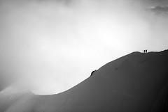 powerful nature with small brave humains (Lingzhi WU) Tags: france paragliding paysage chamonix lanscape montblanc merdeglace aiguilledumidi montenvers seaofice lingzhiwu