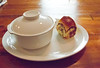 Surprises ahead (Renée S. Suen) Tags: toronto tomato bread tail egg sausage bean pork roll parsley sweetbread pigtail hock offal parkerhouse flageolet renéedinesout geoffhopgood hopgoodsfoodliner