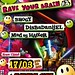 17-03-2012 Rave Your Brain #3 @ Attack, Zg