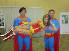Supermen (VictoriaCosplay) Tags: cosplay superman wonderwoman hero megacon initiative jonathancarroll dannykelley victoriacosplay wwwvictoriacosplaycom