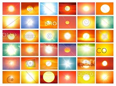 36 Copyrighted Suns Inverted / Right-click, Save as... (lopolis) Tags: copyright photography stockphotography penelopeumbrico creativecopyright copyrightedsuns