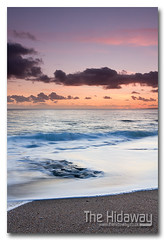 Sunset beach - Explore #263  22/02/12 (Simon Bone Photography) Tags: sea sky cloud sun reflection beach silhouette sand cornwall porthleven cornishcoast cornishsunsets wwwthehidawaycouk canoneos7d canonef24105mmlf4 hitechnd09reversegrad