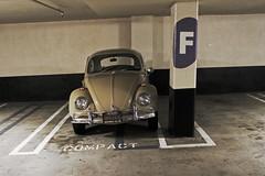 Compact (skipmoore) Tags: sanfrancisco garage explore f compact volkswagon 1000vanness