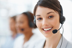 Cute business customer service woman smiling (xex online) Tags: people woman blur cute girl beautiful beauty smile face up smiling closeup modern female work happy person corporate office team model women call looking close adult background space working young center fresh headset professional communication business online customer service worker copyspace secretary talking executive success copy colleague employee confident teamwork xex caucasian