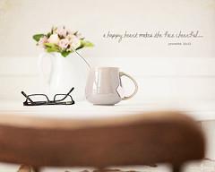 Happy Heart (Kim Klassen) Tags: stilllife sundaymorning lifeisgood kimklassendotcom texturedwithhappyhearttexture thelatestfreebiefromthecafe