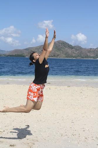 JUMP touch the sun..