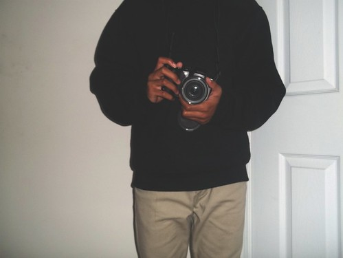 camera boy black male fashion skinny photography sweater clothing big cool slim kodak hipster khaki style retro indoors jeans inside lense