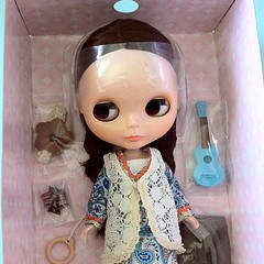 My first ever Blythe doll - she just arrived in the post! <3