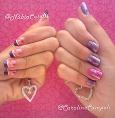 Unhas de corações (Carol Campoli) Tags: corações unhas capricho clubedoesmalte