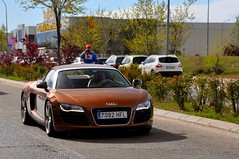 Ipanema. (Sir_Georgino) Tags: madrid brown beauty spain spyder audi exclusive v8 ipanema r8 alcorcon sirgeorgino