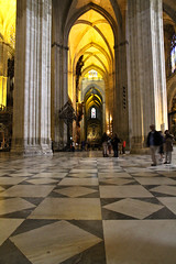 Never Ending (Steven Worobec) Tags: door architecture palace seville cathdral