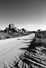 Dust Road (Joshua Zakary) Tags: california road travel arizona mountain landscape sand rocks desert joshuatree boulders dirt