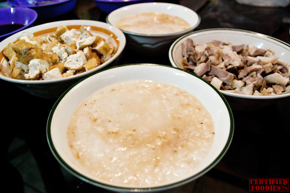 Lugaw with tokwa't baboy is an ideal breakfast
