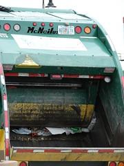 Waste Management 120227 (125) (JoJo Garbage Trucks) Tags: rear management waste loader mcneilus