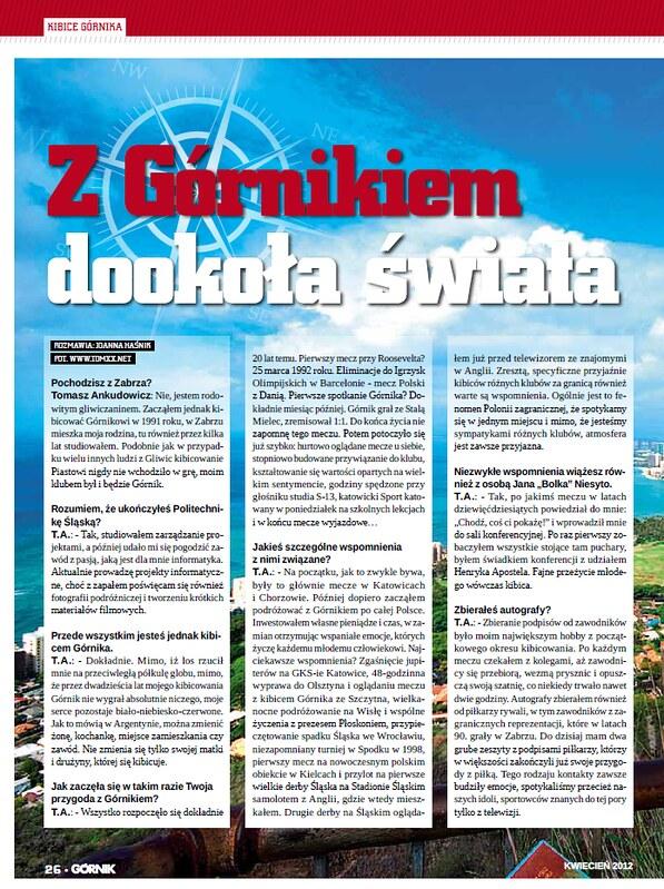 20 lat z Górnikiem..