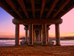 Sunset at Cansaga Bay Bridge (wingmarc) Tags: bridge sunset seascape bay philippines cebu hue cebusugbo mygearandme mygearandmepremium mygearandmebronze mygearandmesilver mygearandmegold cansaga