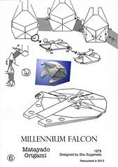 Millennium Falcon origami diagram 4 (Matayado-titi) Tags: starwars origami millenium millennium diagram falcon spaceship starship sugamata matayado