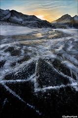 Moncenisio - Lac (Biol Ph) Tags: sunset italy lake snow ice water torino lago nikon italia sigma fisheye piemonte 8mm acqua piedmont susa dx ghiaccio moncenisio valdisusa flickraward d7000 nikonflickraward nikond7000 sigma816mmf4556dchsm