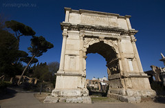 """Arco di Tito • <a style=""""font-size:0.8em;"""" href=""""http://www.flickr.com/photos/89679026@N00/6980274457/"""" target=""""_blank"""">View on Flickr</a>"""