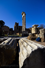 """Temple of Castor and Pollux • <a style=""""font-size:0.8em;"""" href=""""http://www.flickr.com/photos/89679026@N00/6980278183/"""" target=""""_blank"""">View on Flickr</a>"""