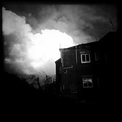 Suddenly I'm a little afraid of the neighbours... (Albion Harrison-Naish (mostly off)) Tags: houses lig