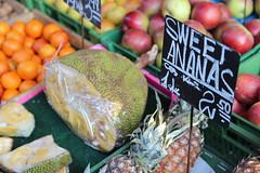 Sweet Fruits (Been Around) Tags: vienna wien fruits fruit austria march österreich europa europe niceshot market eu viena ananas märz autriche jackfruit naschmarkt 2012 austrian aut a linkewienzeile jackfrucht
