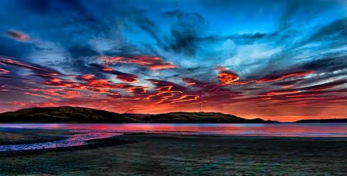 Panoramic Sunset - after the sun set