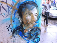 C215 (JOHN19701970) Tags: uk england streetart london wall graffiti march artwork stencil paint artist spray shoreditch spraypaint aerosol bricklane e1 2012 eastend towerhamlets c215