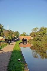 5379 (benbobjr) Tags: nottingham uk bridge england reflection bike way cycling canal unitedkingdom lock path nottinghamshire cuckoo midlands worksop chesterfieldcanal canallock cuckooway cyce