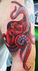 Octopus tattoo (DeadlyInk) Tags: ocean sea tattoo tattoos octopus nautical bodymodification nauticaltattoo octopustattoo realistictattoo justdeadly justdeadlytattooparlor tenticalscolorfultattoo artlamanchagallardo justdeadlytattoo artgallardo