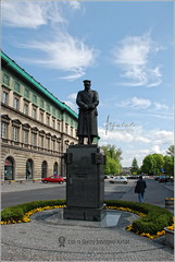 Józef Piłsudski's statue | Varsaw, Poland (Stefan Cioata) Tags: man beautiful statue square photography photo europe republic state image sale military chief great stock first poland polish visit best explore memory round getty socialist leader piazza top10 marshal available statesman outstanding varsovia foreignaffairs józef piłsudski varsaw flickrandroidapp:filter=none chiefofstate