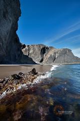 Calas del Barronal -  Beach of Barronal Cove (N4n0) Tags: espaa beach cove playa andalucia almeria cabodegata cala nijar barronal sigma1020mmf456 capegata calasdelbarronal beachofbarronacove