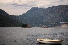 Kotor Bay, Montenegro - view of St. George and Madonna dello Scarpello islands (Sebastian Condrea) Tags: old travel roof red sea summer vacation cloud mountain tourism nature water beautiful fog stone landscape island bay harbor town seaside ancient europe tour harbour background medieval resort recreation balkans stgeorge adriatic montenegro kotor balcans madonnadelloscarpello