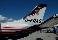 TBM 850 D-FRAS 569 (PlaneSnapper) Tags: switzerland geneva 850 tbm daher 2011 gva 569 cointrin socata ebace tbm8 dfras