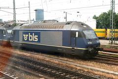BLS Re 465 018-0, Basel Bad (Howard_Pulling) Tags: pictures train canon germany deutschland switzerland photo photos swiss picture rail railway zug trains german bls bahn railways 018 465 re465 class465 400d 0180 hpulling baureihe465