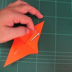 วิธีการพับกระดาษเป็นรูปไดโนเสาร์ (Origami Dinosaur) 002
