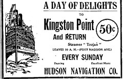 Hudson river navigation co steam ship co ad  1915 albany ny  Steamer Trojan. (albany group archive) Tags: hudson river navigation co steam ship ad 1915 albany ny steamer trojan oldalbany history
