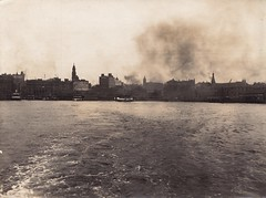 Circular Quay from back of ferry [RAHS Collection] (Royal Australian Historical Society) Tags: water ferry boat sydney australia circularquay newsouthwales ferries sydneyharbour rahs royalaustralianhistoricalsociety