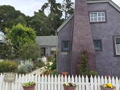 Purple House (tiny red warrior) Tags: california roadtrip cambria