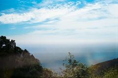 45430006 (danimyths) Tags: ocean california film beach nature water landscape coast waterfront pacific roadtrip pch pacificocean westcoast pacificcoastalhighway filmphotography