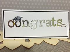 Graduation: grad (WorldofCreativity) Tags: foil graduation card congrats lawnfawn lawnfawnhatsofftoyou louiesabcs