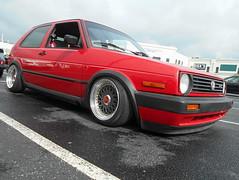 1991 Volkswagen Golf GTI (splattergraphics) Tags: vw golf volkswagen 1991 gti carshow huntvalleymd volksrod huntvalleytownecentre huntvalleyhorsepower